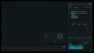 Generic Sci-Fi Display for Computer Screens - B