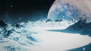 Icy Moon of Jupiter