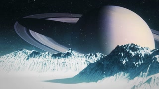 Icy Moon of Saturn