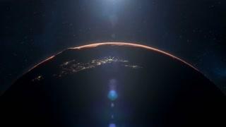 Inhabited Mars of the Future - Close