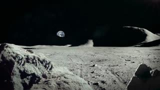 Lunar Landscape - Moon Surface