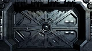 Sci-Fi Door Opening 1