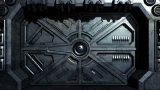 Sci-Fi Door Opening 2