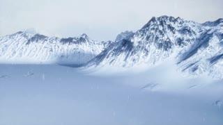 Snowy Scene Establishing Shot