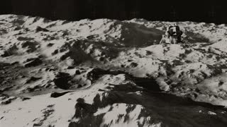 The Eagle has Landed 1 - Black And White Archival Footage