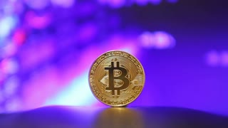 Crypto currency Gold Bitcoin - BTC - Bit Coin
