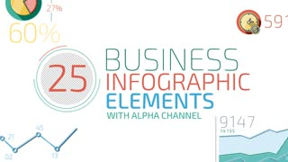 25 Business Infographic Elements