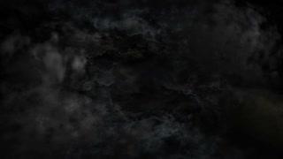 Black Dramatic Clouds