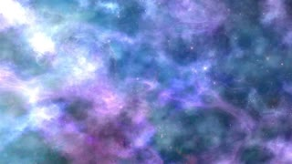 Lilac-Blue Space Nebula Background