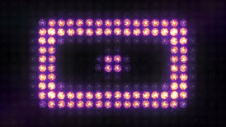 Square Pulse flashing light wall