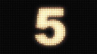 Wall light countdown