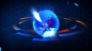 Broadcast globe SPORT animation