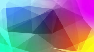 Multicolored abstract background animation
