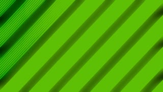 Animated VJ line pop art abstract looping background in green