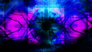 Blue abstract motion loop XR21