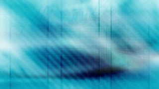 Blue Futuristic Looping Abstract