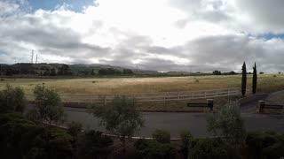 California country side time lapse