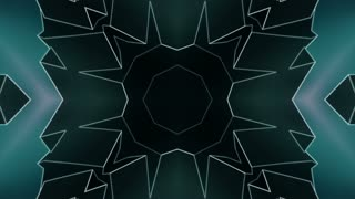 Geometric blue gray VJ loop