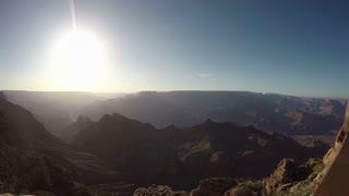 Grand Canyon Sunset Shot three