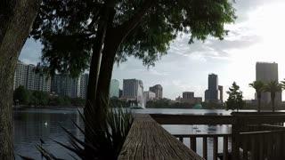 Lake Eola Orlando Fl