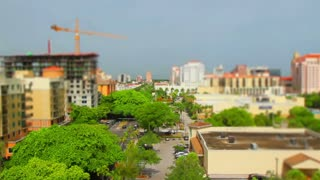 Miami Florida Time Lapse Tilt Shift