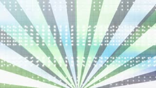 New retro style looping animated backdrop Color One