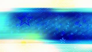 Star Streaks Looping Abstract