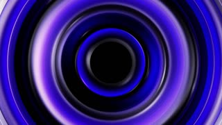 Blue circles and animated highlights looping CG background