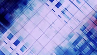 Blue geometric abstract wire frame looping VJ animated HD CG backdrop