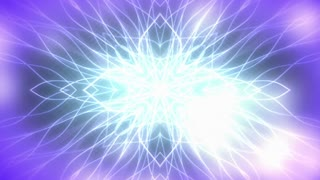 Blue Purple Glowing Abstract Animated Background Loop