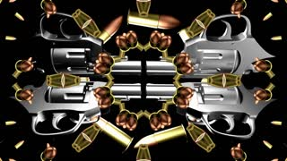 Bullets And Guns Looping Animated Background