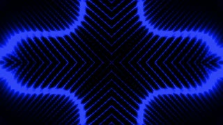 Element or background looping blue wire frame over black animation