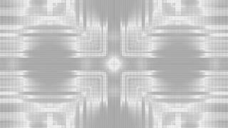 White And Gray Scale Abstract Patterned Line Looping Animated Background
