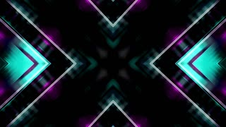 X shaped streaks of color animated CG looping backdrop