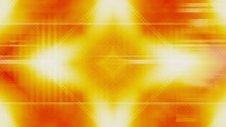 VJ Looping Orange Geometric