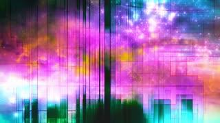 VJ visual animated looping backdrop