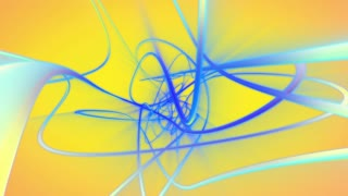 Yellow and blue motion loop background