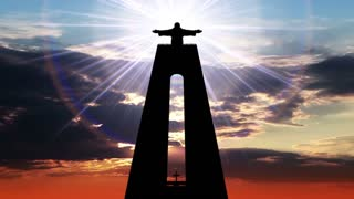 Statue of Christ the King and Divine Light