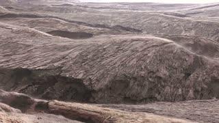 Volcanic Lava Smokes. Seamless Loop