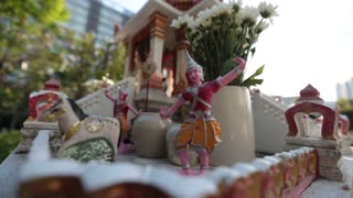 Bangkok, Thailand, November 18, 2016 Sacred place for prayer in Asia