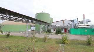 Enterprise for processing organic waste. Organic waste and vyrobotka energy