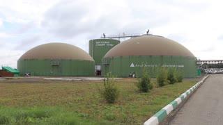 Enterprise for processing organic waste. Organic waste and vyrobotka energy