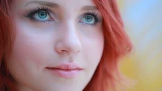 girl with beautiful eyes wolf eyes