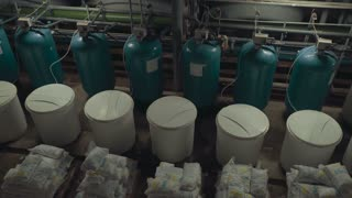 Industrial water filtration and ionizer system