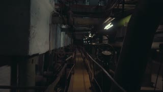 Old abandoned factory for water purification. Industrial water filtration and ionizer system