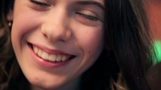 Young girl beautiful smile