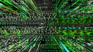 Data Storm 0209: A digital network data labyrinth (Loop).