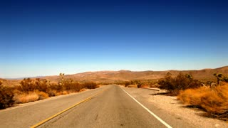Highway 0207: A time lapse drive down a desert highway.