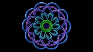 Kaleido 1005: Kaleidoscopic video background (Loop).