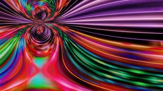 Mesmer 0101: Abstract mesmerizing forms ripple and flow (Loop).